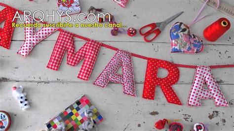 decoracion dormitorio letras letras decorativas para bebes letras para cuartos y
