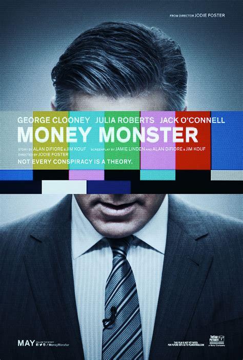 Money Monster 2016 Full Movie George Clooney Featured On New Money Monster Poster Movienewsplus Com