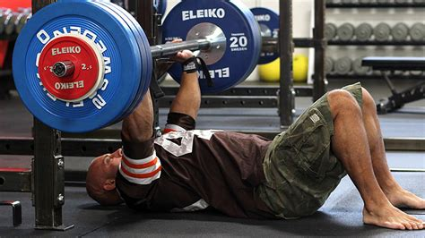 floor bench press build muscle with heavy singles t nation