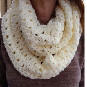 Free Crochet Patterns For Infinity Scarves Lacy Infinity Scarf Barb S Crochet Patterns Crochet
