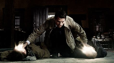 immersed in his a supernatural guide to experiencing and abiding in god s presence books castiel smiting demons 2 castiel photo 36140571 fanpop