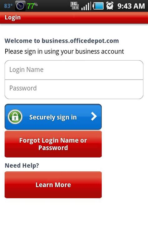 office depot 174 for business android apps on play