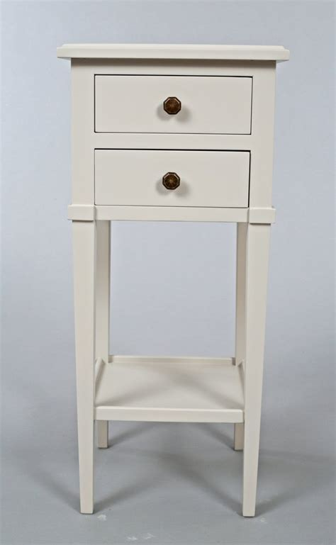 skinny bedside table narrow bedside table with drawers narrow bedside table