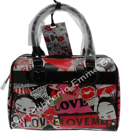 Tas Puca borsa pucca maxi bag pop