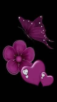 Flower heart amp butterfly girls things pinterest