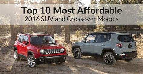 Affordable And Reliable Suvs by Affordable Suvs And Crossovers Autos Post