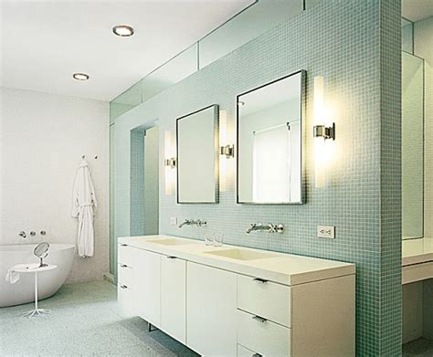 Bathroom Light Ideas Furniture Fashion14 Great Bathroom Lighting Fixtures In Brushed Nickel