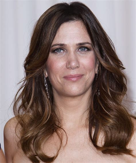 kristen wiig new hairstyles and haircuts daily hairstyles new kristen wiig long wavy casual hairstyle medium brunette