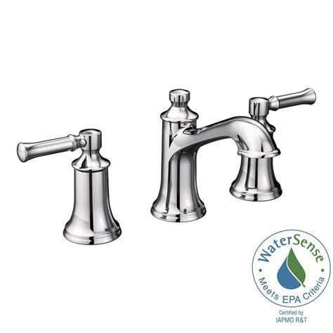 moen dartmoor 8 in widespread 2 handle bathroom faucet in chrome valve not included t6805