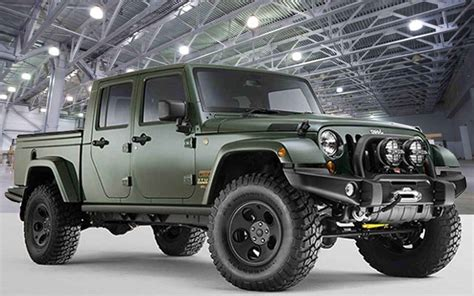 new jeep truck concept 2018 jeep gladiator price release date and specs new