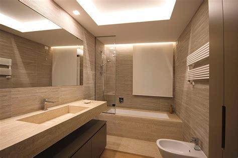 bagno con vasca incassata interior design sartoriale i dettagli della casa studiati