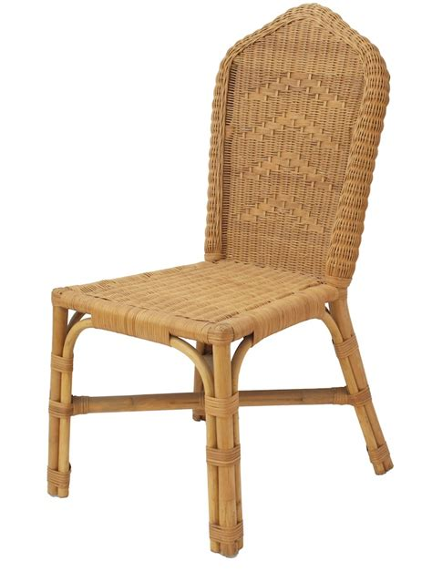seagull wicker rattan dining chair ebay