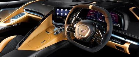 rhd  chevrolet corvette stingray  reveals interior