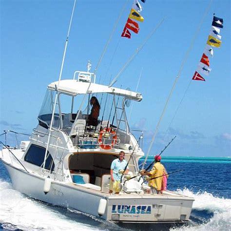 sea fishing boat equipment luna sea bora bora fishing boat