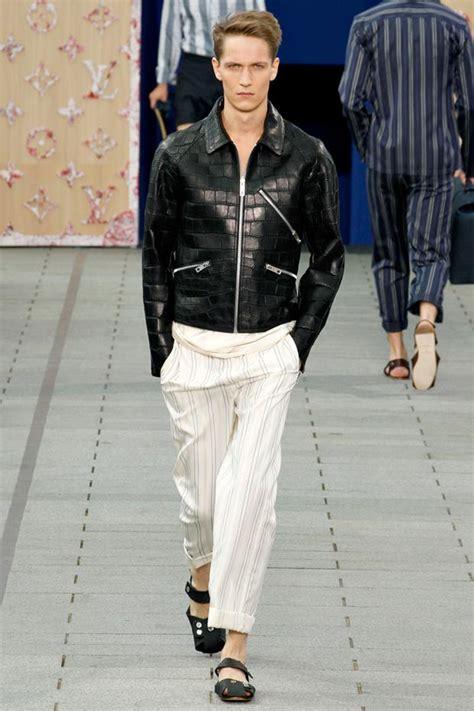 Jaket Mix Line louis vuitton summer 2012 fashion show