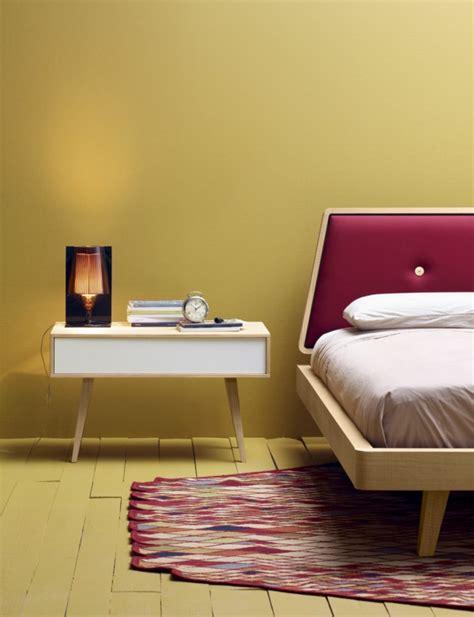 beliebtes interieur designer nachttische schlafzimmer - Bett 360x200