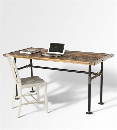 best 25 reclaimed wood desk ideas on l desk
