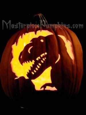 free printable pumpkin carving stencils jurassic park animals dragons dinosaurs