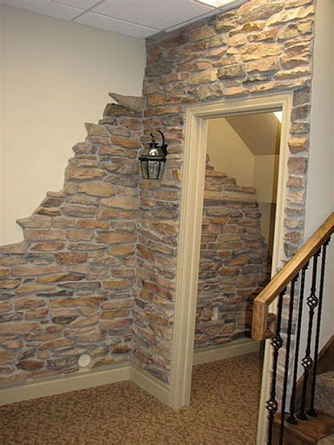 interior stone walls home depot fake rock wall panels ideas about faux stone walls on