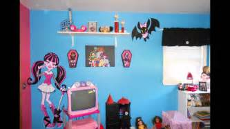 Paint Ideas For Kids Bedrooms monster high bedroom youtube