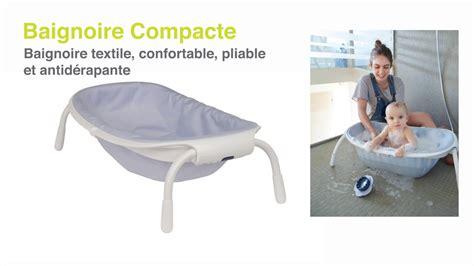 baignoir pour bebe baignoire b 233 b 233 pliable compact de b 233 aba