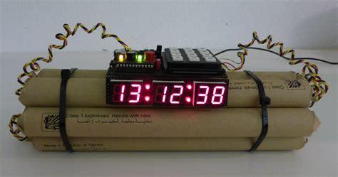 Alarm Bom Bomb Alarm Clock Cypax Net