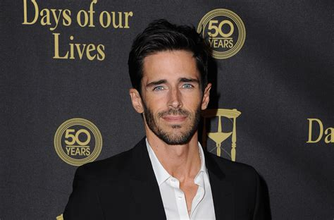 brandon beemer is coming back to days of our lives brandon beemer shares heartfelt good bye to days of our