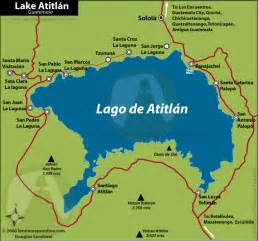 lake map of map of lake atitlan guatemala images