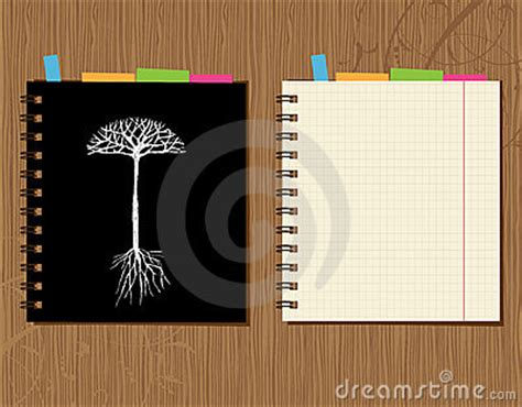 design notebook cover online notebook cover and page design wooden background royalty