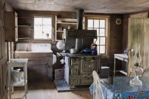 Cabin Kitchen Designs Cabin Kitchen Log Cabin Cooking