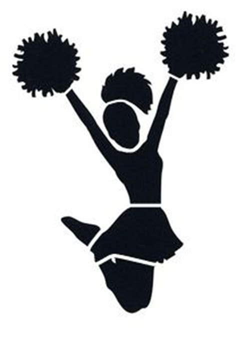 printable cheerleading stencils cheer design and stencils on pinterest