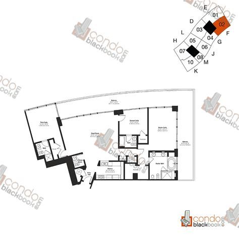icon south beach floor plans icon south beach unit 2202 condo for sale in south beach