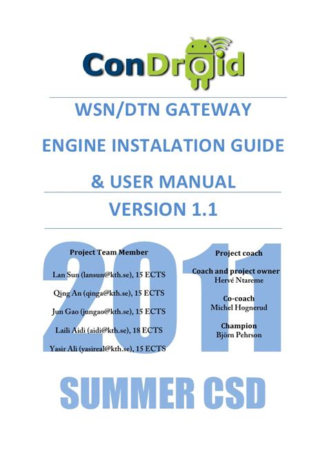 where is my instruction manual the shared nursery a tour condroid wsn dtn gateway user manual installation guide