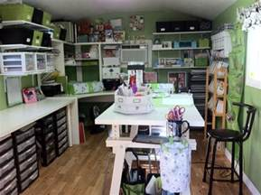 Craft Shed by This Room To Believe It S A Storage Shed