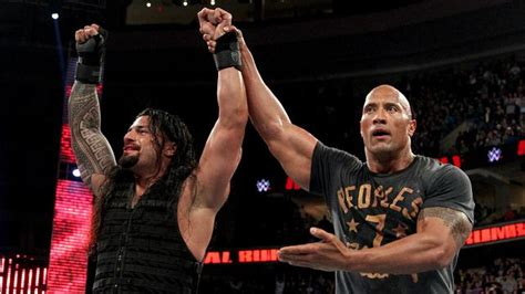 rock and roman reigns review wwe royal rumble 2015 the void magazine