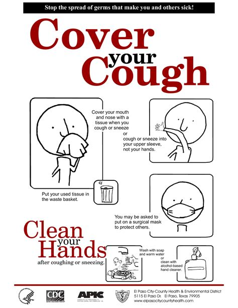 cover layout com cover your cough clipart clipart suggest