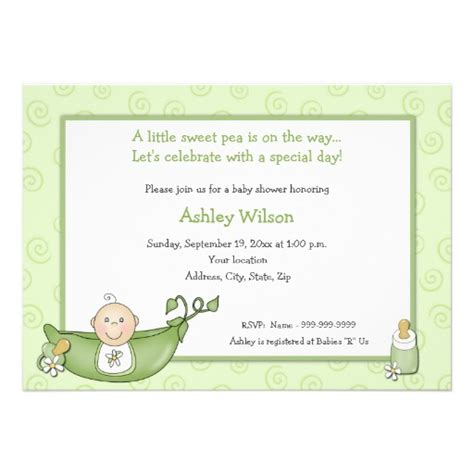 free baby invitation templates templates