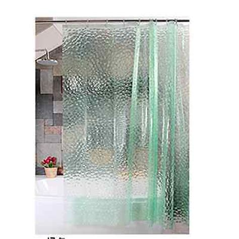 clear plastic shower curtains 180cm 3d clear plastic eva diamond shower curtain water