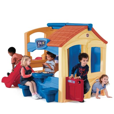 toddler playhouse with slide best indoor and outdoor playhouses for toddlers and