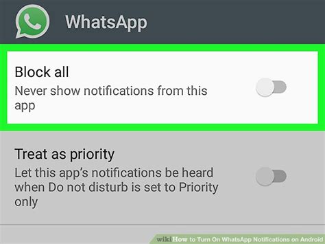 turn notifications android how to turn on whatsapp notifications on android 12 steps