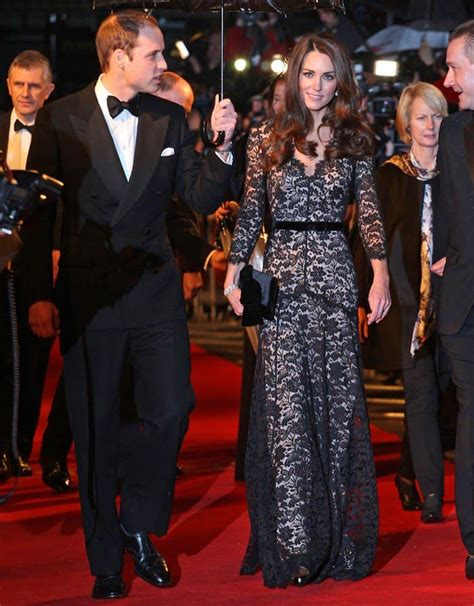 Geller In Temperley For The Premier The Air I Breathe by Kate Middleton S Temperley Amoret Lace Gown