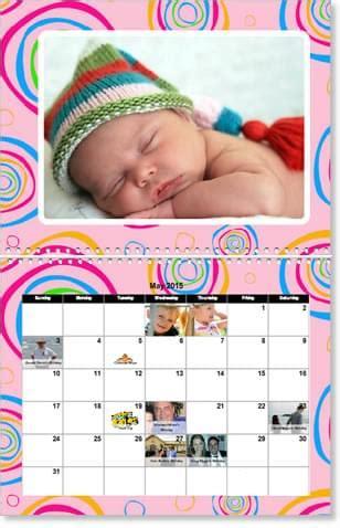 baby calendar baby photo calendars