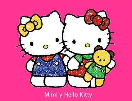 imagenes de kitty y su hermana mimmy la hermana de hello kitty locos por hello kitty