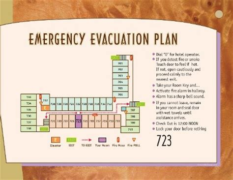 emergency room procedures tsunami information citizen emergency response team test evacuation plans for hotels