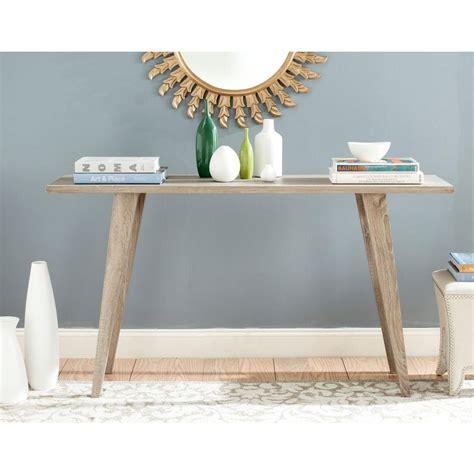 Oak Sofa Table by Safavieh Manny Oak Console Table Fox4220a The Home Depot