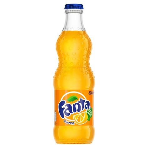 Fanta Orange 24x 330ml Glass Bottles : Buy Cheap Price