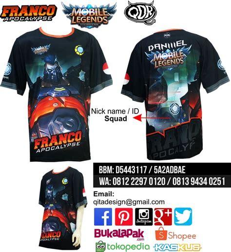 Kaosbajut Shirt Mobile Legends 1 11 best t shirt mobile legend images on legends and mobile phones