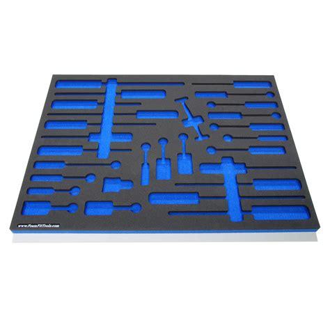 Tool Drawer Foam by Foam Organizers For Shadowing Craftsman Screwdrivers