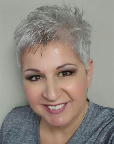 how to care for older thinning silver hair 63 best images about hair cut on pinterest short grey