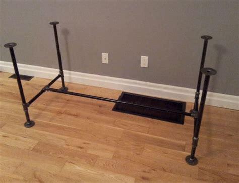 steel pipe desk legs pipe legs do it myself